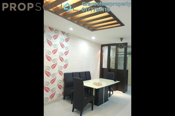 Apartment For Rent in Tebrau City Residences, Tebrau Freehold Fully Furnished 2R/2B 1.68k