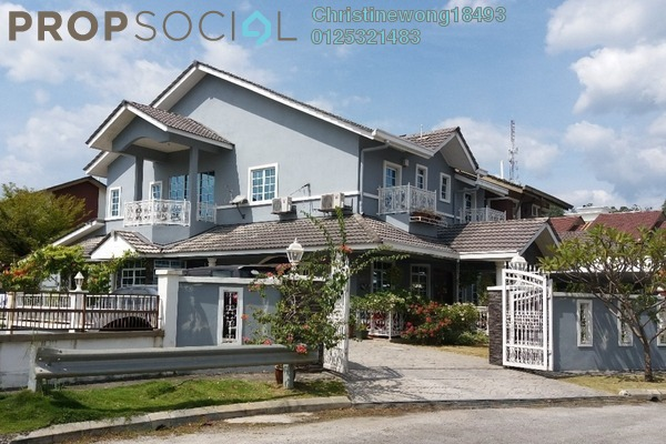 Semi-Detached For Sale in Emerald East, Rawang Freehold Fully Furnished 5R/4B 1.2m