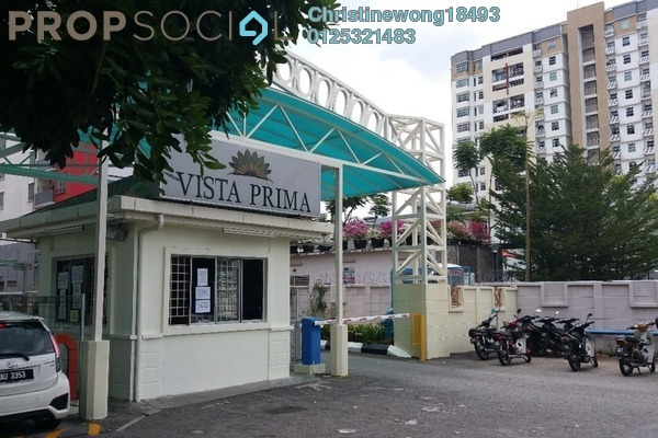 Condominium For Sale in Vista Prima, Puchong Freehold Unfurnished 3R/1B 300k