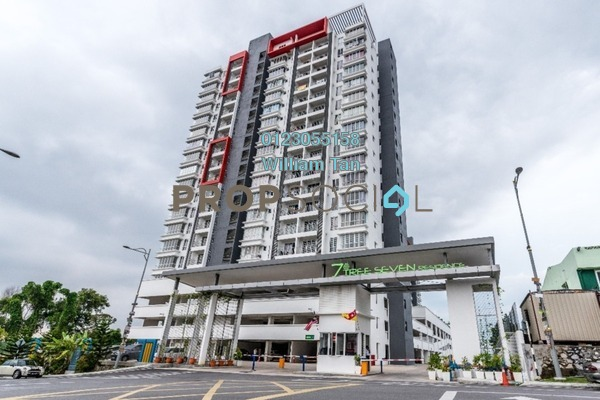 Condominium For Rent in 7 Tree Seven Residence, Bandar Sungai Long Freehold Unfurnished 4R/2B 1k