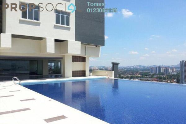 Condominium For Rent in Sky Vista Residensi, Cheras Freehold Semi Furnished 4R/2B 1.6k