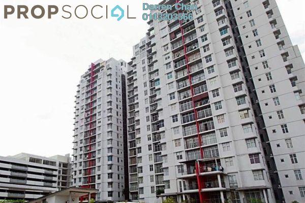 Condominium For Rent in Midfields, Sungai Besi Freehold Semi Furnished 3R/2B 1.4k