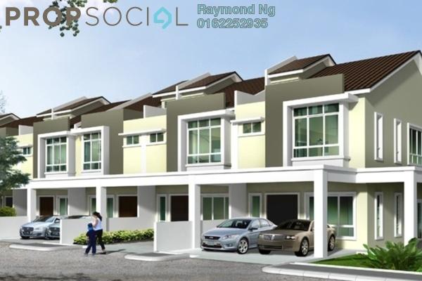 Terrace For Sale in Tiara Putra, Bukit Rahman Putra Freehold Unfurnished 4R/3B 509k