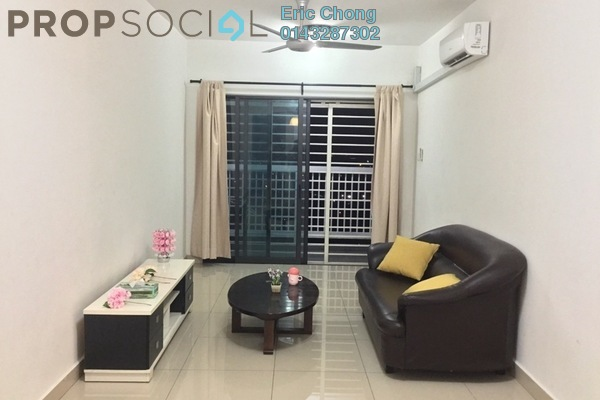 Condominium For Rent in Alam Sanjung, Shah Alam Freehold Fully Furnished 3R/2B 1.5k