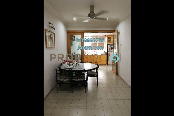 Terrace For Sale in Taman Rainbow, Jalan Ipoh Freehold Fully Furnished 4R/3B 1.67m
