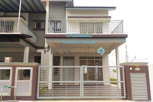 Terrace For Sale in Kepayang Residence, Taman Bukit Kepayang Freehold Unfurnished 4R/3B 730k