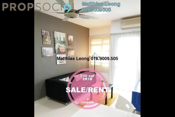 Condominium For Rent in Perdana Exclusive, Damansara Perdana Freehold Fully Furnished 2R/1B 1.9k