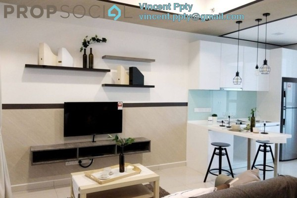 SoHo/Studio For Sale in 3rdNvenue, Ampang Hilir Leasehold Semi Furnished 2R/2B 380k