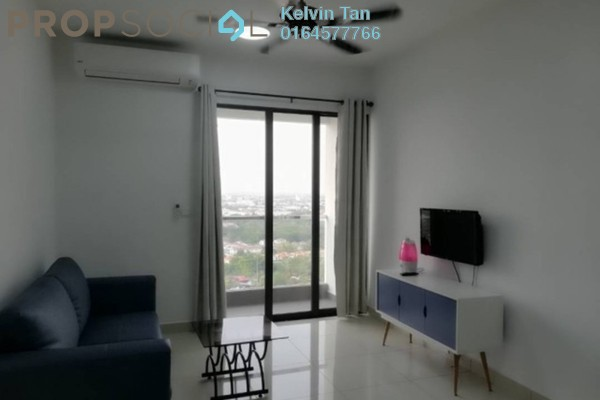 Serviced Residence For Rent in Woodsbury Suites, Butterworth Freehold Fully Furnished 2R/1B 1.5k