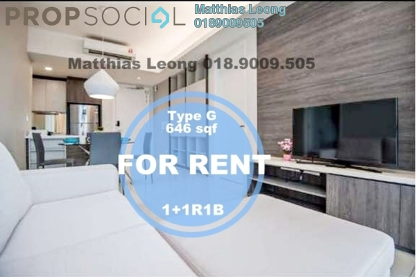 Serviced Residence For Rent in The Robertson, Pudu Freehold Fully Furnished 1R/1B 3.8k