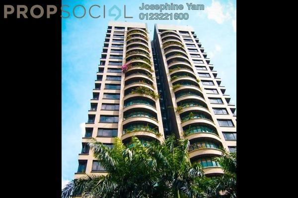 For Rent Condominium at Regency Tower, Bukit Ceylon Freehold Semi Furnished 3R/4B 6k