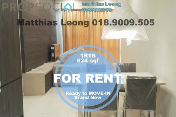 Serviced Residence For Rent in The Robertson, Pudu Freehold Fully Furnished 1R/1B 3k