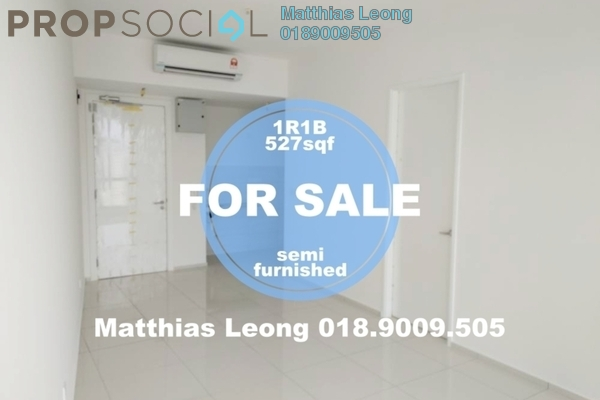 Serviced Residence For Sale in The Robertson, Pudu Freehold Semi Furnished 1R/1B 820k