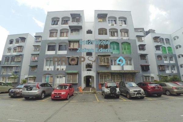 Apartment For Sale in Delima J Apartment, Desa Pandan Freehold Semi Furnished 3R/2B 340k