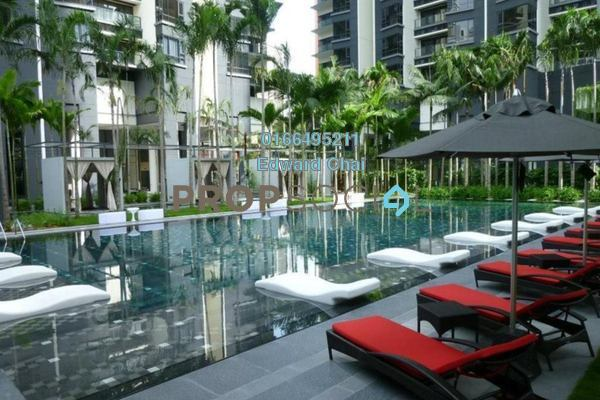 Condominium For Rent in St Mary Residences, KLCC Freehold Semi Furnished 2R/3B 6.5k