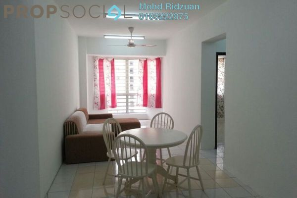 Serviced Residence For Rent in Rhythm Avenue, UEP Subang Jaya Freehold Fully Furnished 3R/2B 1.5k