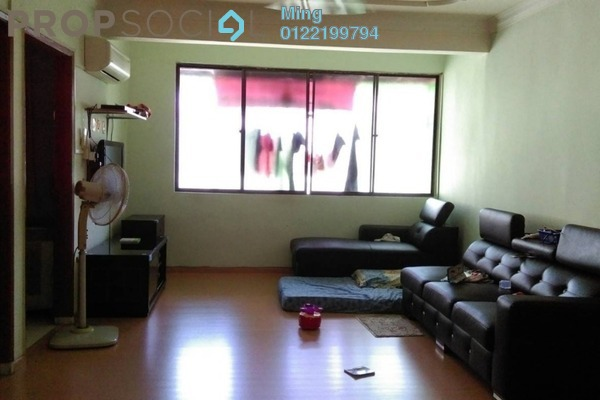Apartment For Sale in Taman Kuchai Jaya, Kuchai Lama Freehold Semi Furnished 3R/2B 280k