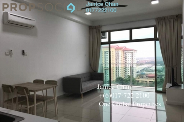 Serviced Residence For Rent in Palazio, Tebrau Freehold Semi Furnished 2R/2B 1.6k