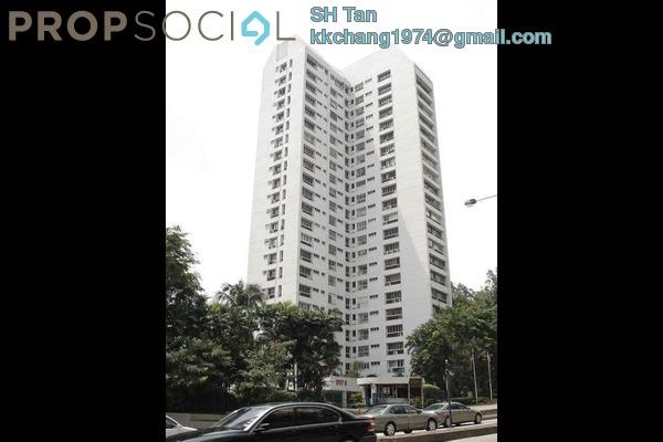 Condominium For Rent in Menara Bangsar, Bangsar Freehold Semi Furnished 4R/3B 2.7k