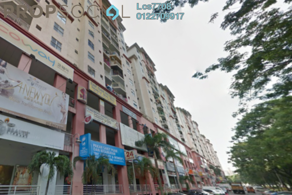 Apartment For Rent in Vista Magna, Kepong Freehold Semi Furnished 3R/2B 1.1k
