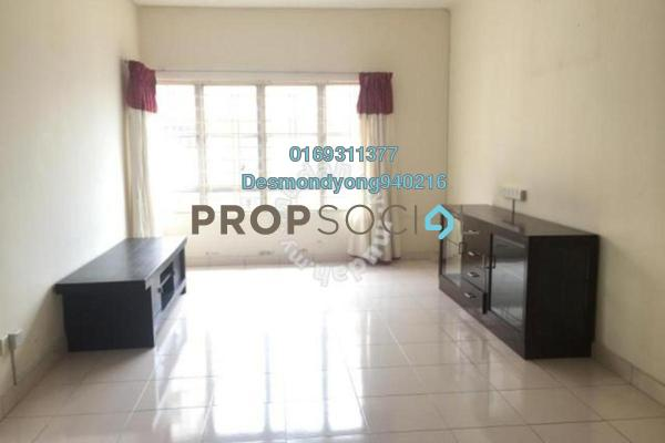 Apartment For Rent in Melur Apartment, Sentul Freehold Semi Furnished 3R/2B 1.4k