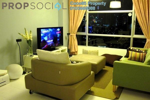 Condominium For Sale in The Saffron, Sentul Freehold Semi Furnished 3R/2B 630k