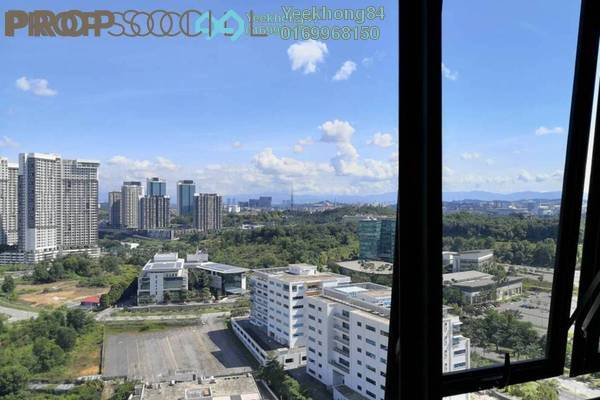 Condominium For Sale in Kanvas, Cyberjaya Freehold Semi Furnished 1R/1B 304k