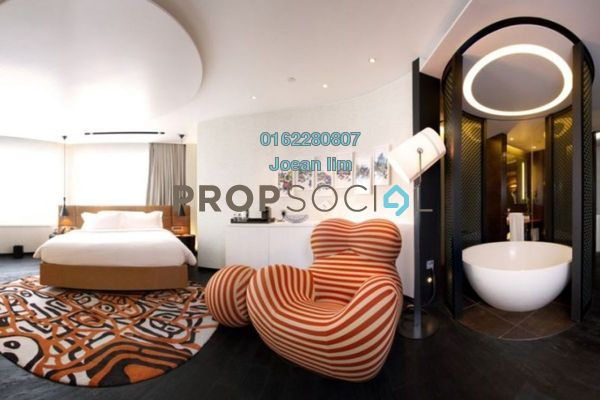 Serviced Residence For Sale in Scarletz Suites, KLCC Leasehold Semi Furnished 0R/0B 750k