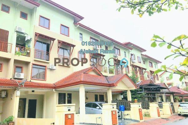 Townhouse For Sale in Villa Laman Tasik, Bandar Sri Permaisuri Leasehold Semi Furnished 4R/3B 550k