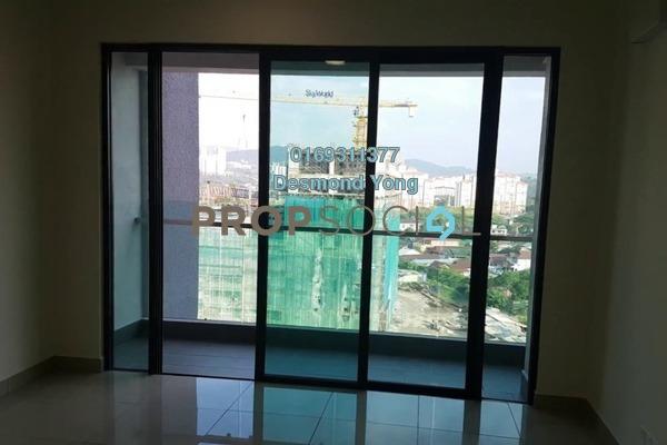 Condominium For Rent in Ascenda Residence @ SkyArena, Setapak Freehold Semi Furnished 3R/2B 1.7k