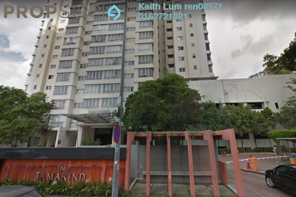 Condominium For Sale in The Tamarind, Sentul Freehold Semi Furnished 3R/2B 700k
