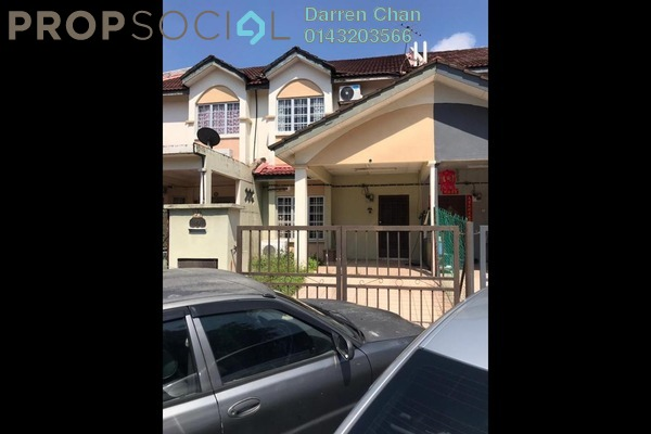Terrace For Rent in Taman Minang Ria, Cheras South Freehold Semi Furnished 4R/3B 1.3k