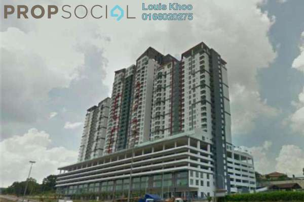 Condominium For Sale in Silk Sky, Balakong Freehold Fully Furnished 3R/2B 348k