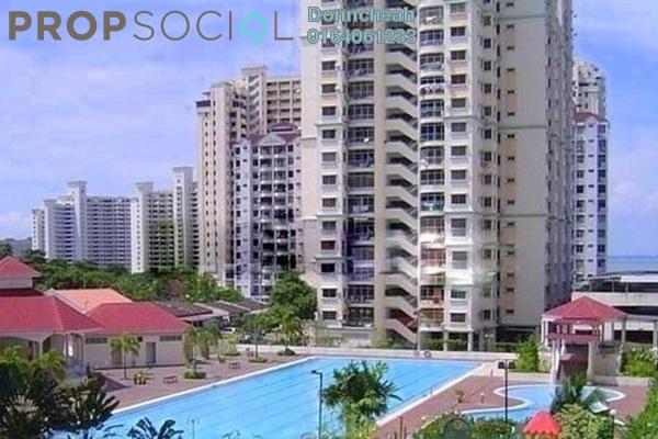 Condominium For Rent in Taman Kristal, Tanjung Tokong Freehold Fully Furnished 3R/2B 1.2k