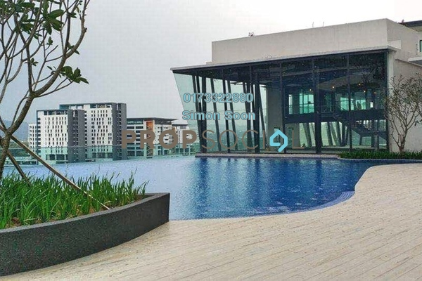 Condominium For Rent in Parkhill Residence, Bukit Jalil Freehold Semi Furnished 3R/2B 1.78k