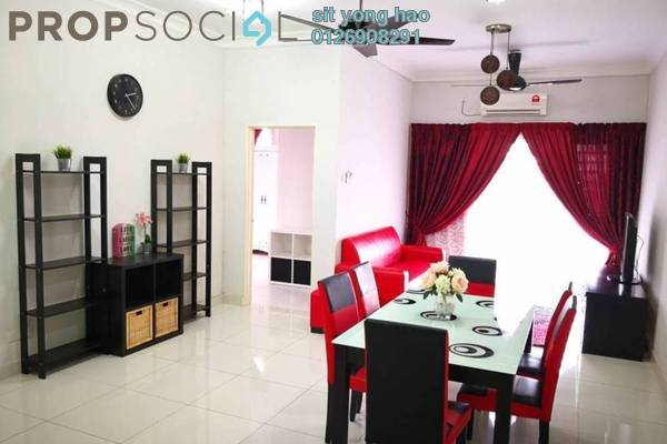 Condominium For Rent in Kristal View, Shah Alam Freehold Fully Furnished 3R/2B 1.9k
