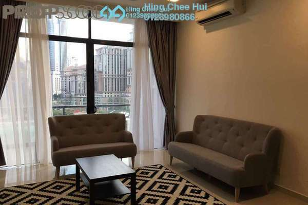 Condominium For Sale in Mirage Residence, KLCC Freehold Semi Furnished 4R/4B 1.6m