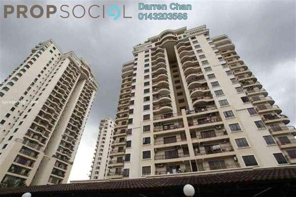Condominium For Sale in Abadi Villa, Taman Desa Freehold Semi Furnished 3R/2B 538k
