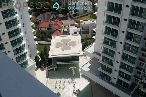 Condominium For Sale in The Clovers, Sungai Ara Freehold Unfurnished 4R/3B 690k