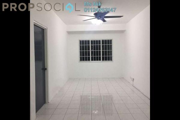 Apartment For Rent in Cemara Apartment, Bandar Sri Permaisuri Freehold Semi Furnished 3R/2B 1.5k