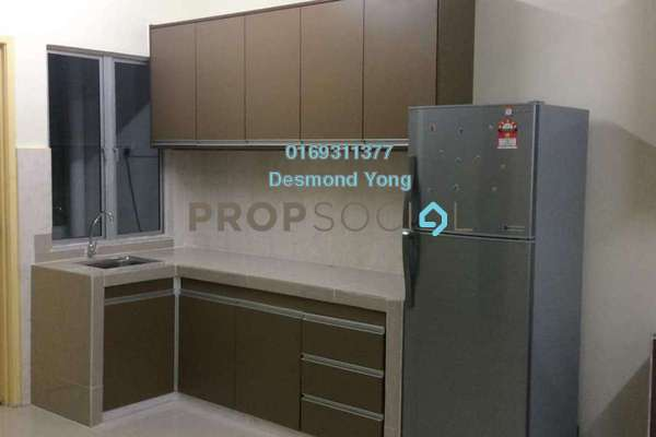 Townhouse For Rent in Sommerset Close, Bandar Sri Permaisuri Freehold Fully Furnished 4R/4B 2.5k