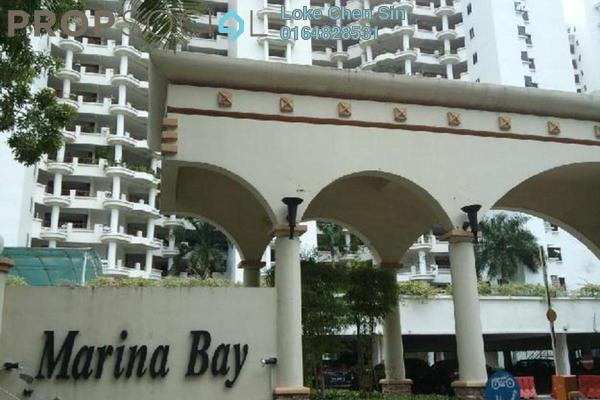 Condominium For Rent in Marina Bay, Tanjung Tokong Freehold Fully Furnished 3R/2B 3k