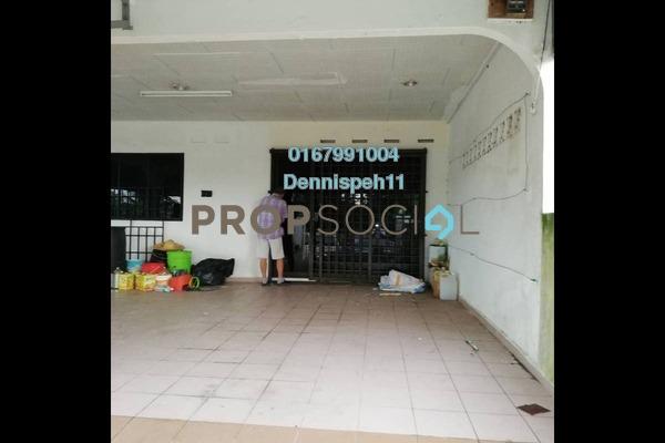 Terrace For Sale in Taman Aman, Senai Leasehold Unfurnished 4R/2B 368k