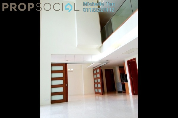 Duplex For Sale in Dua Residency, KLCC Freehold Semi Furnished 4R/5B 3.1m