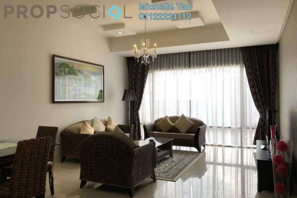 Serviced Residence For Rent in Pavilion Residences, Bukit Bintang Freehold Fully Furnished 2R/2B 7.3k