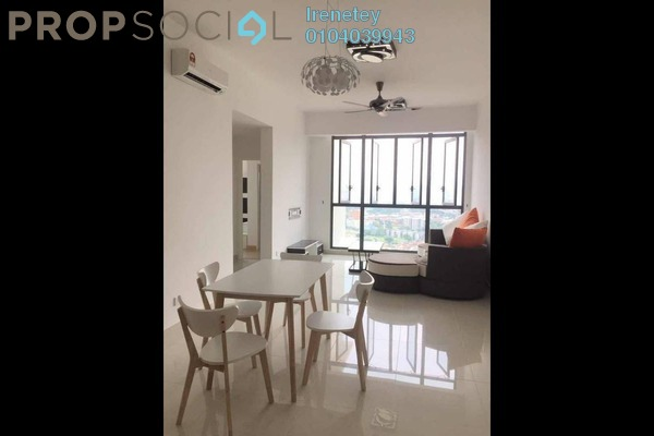 Condominium For Rent in Shamelin Star Serviced Residences, Cheras Freehold Semi Furnished 3R/2B 2.3k