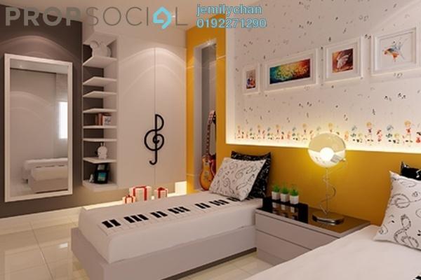 Condominium For Rent in Ivory Residence, Kajang Freehold Semi Furnished 3R/2B 1.1k