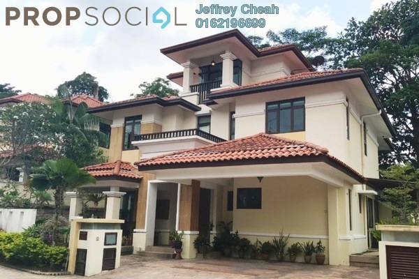 Bungalow For Sale in Impian Bukit Tunku, Kenny Hills Freehold Semi Furnished 6R/6B 5.2m