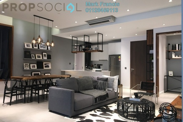 Serviced Residence For Sale in Lot 15, Subang Jaya Freehold Semi Furnished 2R/2B 690k