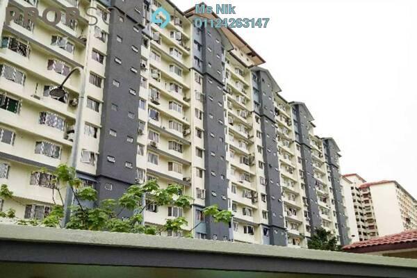 Apartment For Sale in Lestari Apartment, Bandar Sri Permaisuri Freehold Unfurnished 3R/2B 320k